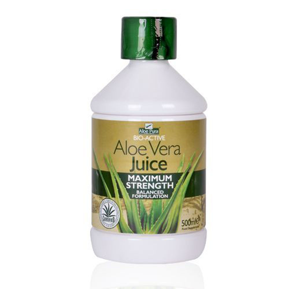 aloe pura aloe vera juice organic 500ml alive and well. Black Bedroom Furniture Sets. Home Design Ideas