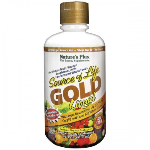 Natures+ Source of Life Gold Liquid 30oz